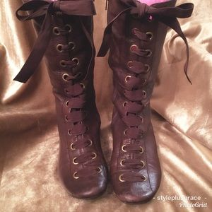 Diba Distressed Lace up Boot